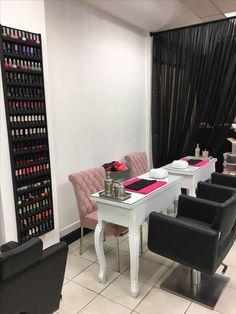 Resultado de imagen para decoracion salon de uñas y pies