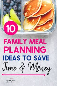 Whether you're on a budget or looking for easy ways to eat healthy with kids, check out these 10 family meal planning tips. #familymealplanning #weeklyfamilymealplan #familymealplanningonabudget #inspiredprose #inspiredproseprintables Budget Recipes, Budget Meals, Great Recipes, Healthy Recipes, Family Meal Planning, Family Meals, Kids Meals, Ways To Eat Healthy, Healthy Eating