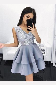 Short Homecoming Dress, Lace Homecoming Dress, Blue Prom Dress, Cute Homecoming Dress, Short Homecoming Dresses #ShortHomecomingDress #LaceHomecomingDress #BluePromDress #CuteHomecomingDress #ShortHomecomingDresses