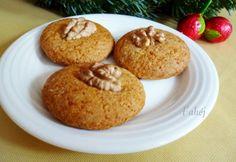 Mézes korongok Cannoli, Cookie Jars, Biscotti, Muffin, Cookies, Breakfast, Christmas, Food, Crack Crackers