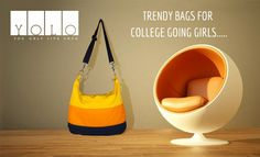 Trendy Bags For College Going Girls from YOLO