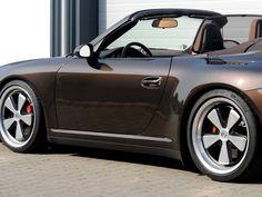 Porsche Fuchs wheels on a silver 997 - Google Search