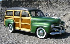 Wood Is Good: 1948 Ford Woodie Wagon - http://barnfinds.com/wood-is-good-1948-ford-woodie-wagon/