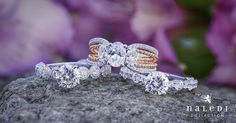 Beautiful vintage engagement rings by Naledi.
