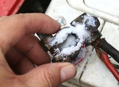 BATTERY - How to Clean Corroded Car Battery Terminals.