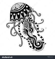 Image Result For Tribal Drawing Jellyfish Drawing Image Jellyfish Result Tribal Drawing Image Jel Stammeszeichnungen Malvorlagen Tiere Mandala Ausmalen