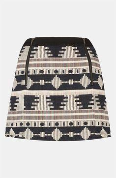 Topshop Aztec Print Skirt | Nordstrom