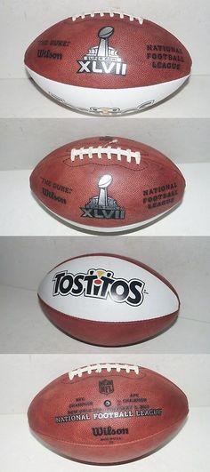 Footballs 21220  2013 Wilson Leather Nfl The Duke Tostitos Super Bowl Xlvii  Football -  5104a651f