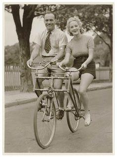 Amor en sepia y en bici ♥