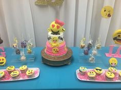 Lanyia's 13th Emoji Birthday Celebration | CatchMyParty.com