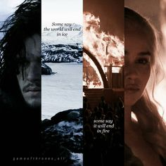 Game of thrones edit, asoiaf, a song of ice and fire, Jon Snow, Daenerys Targaryen