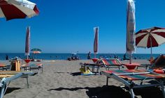 #Caorle #Beach #italy Over The River, Great Memories, Beautiful Beaches, Venice, Woods, Places To Visit, Wanderlust, London, History