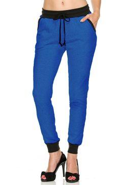 Trendy Knit Drawstring Jogger Pants