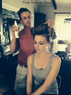 Get The Smooth Strands You Always Wanted, Just Like Emily VanCamp David Gardner, Emily Thorne, Emily Vancamp, Celebs, Celebrities, Straight Hairstyles, The Hamptons, Curly Hair Styles, Hair Beauty