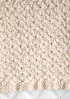 Free Baby Blanket Knitting Pattern 3                                                                                                                                                     More