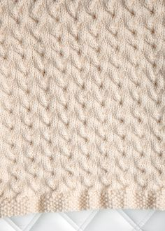 Free Baby Blanket Knitting Pattern 3