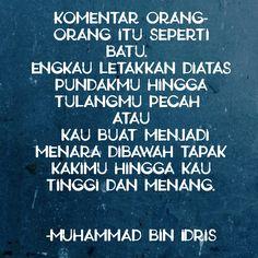 IHM - Atitude #islamquote #imamsyafii #muhammad #motivational #inspiring