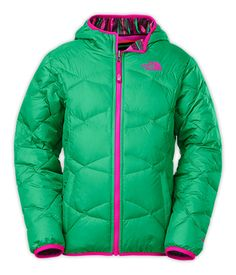 71e39e594bbf The North Face Reversible Perrito Jacket Girls   Keep toddlers smiling and  giggling this winter with this reversible insulated winter jacket.