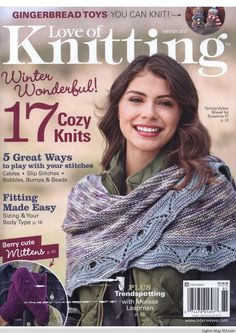 Love of Knitting Winter 2017 - 轻描淡写 - 轻描淡写