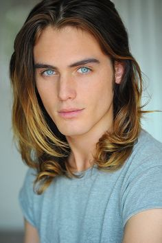 posh modeling male models with long hair - Google Search