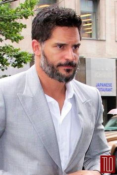 Joe Manganiello | Alcide True Blood (again, even hotter now with the greys!! Fucking love it) (I may have a problem)