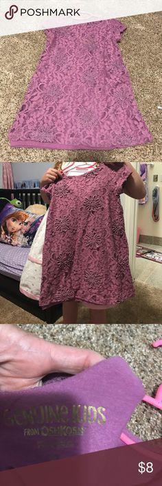 Kids purple dress/tunic Purple dress/tunic. No rips or tears. Held up by a 6 year old:). OshKosh B'gosh Dresses Casual