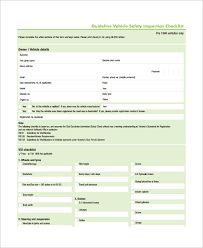 Our Free Vehicle Inspection Checklist And Rating System Aims To