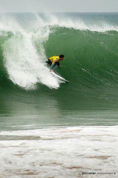 Chris Davidson Rip Curl Pro 2011 – Last Day  Heat 1 - Round 5  Supertubos. #surfing #photography