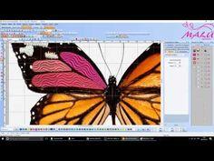 Wilcom - Criando matriz com criatividade + dica conector - YouTube Applique, Embroidery, Sewing, Youtube, Creativity, Needlepoint, Couture, Fabric Sewing, Drawn Thread