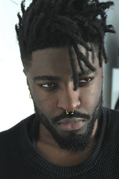 Man's afro haircut with locs Black Men Hairstyles, Haircuts For Men, Men's Hairstyles, Black Hairstyle, Harry Samba, Too Faced, Hair Reference, Reference Drawing, How To Draw Hair