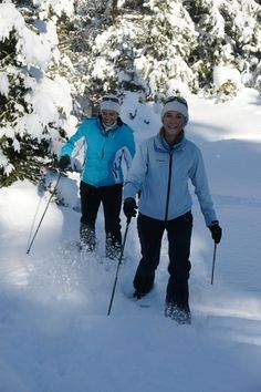 Schneeschuhwandern in Nauders http://www.post-nauders.com/