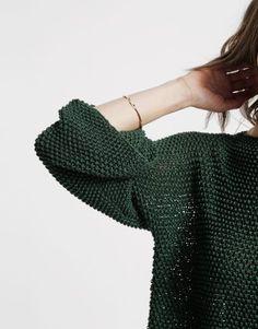 Love thing Sweater | knit it | @woolandthegang.com