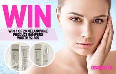 WIN 1 of 20 MelanoVine™ Hampers Worth 305 from Theravine™ Hampers, Cosmopolitan, Skin Care, Board, Baskets, Skincare, Skin Treatments