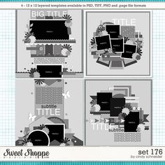 Cindy's Layered Templates - Set 176 by Cindy Schneider