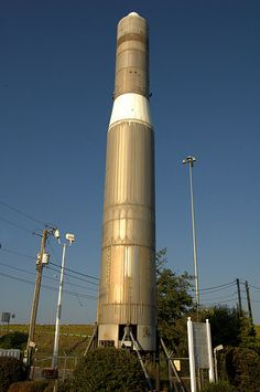 Titan I Missile, Cordele, GA:  A relic of the Cold War, this Titan I Intercontinental Ballistic Missile (ICBM) stands nearly 100 feet tall beside I-75 at Cordele. Local Rotary Club president John S. Pate, Jr., requested the surplus missile be dismantled and  flown to nearby Warner Robins Air Force Base. From there it was delivered by truck to its present site.  It was also given the dubious distinction of being named Confederate Air Force Launch Pad No. 1.