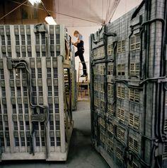 Sets for Blade Runner (1982) dir Ridley Scott. Production Design Lawrence G. Paull. Art Direction David L. Snyder. Set Decoration Linda DeScenna, Leslie Frankenheimer, Thomas L. Roysden, Peg Cummings.
