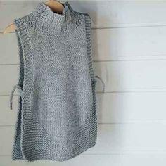 18 stunning yet simple garter stitch knitting patterns – Artofit Diy Crafts Knitting, Easy Knitting, Knitting Stitches, Knit Vest Pattern, Knit Patterns, Crochet Poncho, Knit Crochet, Crochet Clothes, Diy Clothes