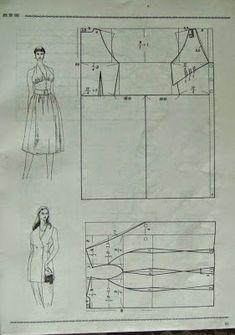 cin pants dress patterns making) - modelist kitapları Pattern Draping, Japanese Sewing Patterns, Modelista, Dress Making Patterns, Collor, Pattern Cutting, Ladies Boutique, Dressmaking, Clothing Patterns