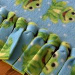 a collection of different methods of no-sew blankets from tipnut: anewchelseamorning.blogspot.com is featured in the pin--- cute!