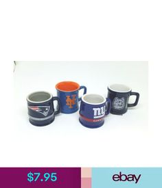Party Supplies Shot Glass Mugs, Sports - Uconn Huskies, Ny Giants & Mets, Ne Patriots #ebay #Home & Garden
