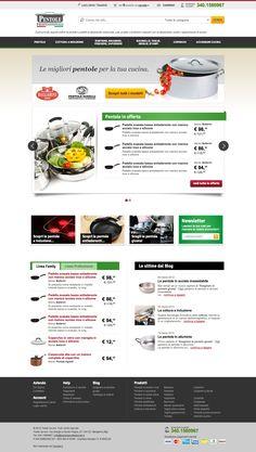 Il più grande negozio online di pentole e padelle professionali, casseruole, wok, griglie e tantissimi accessori per professionisti, cuochi e appassionati di cucina. Sito web: www.pentoleprofessionali.it