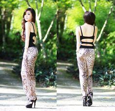 You : Tarzan, Me: Cheetah (by Kryz Uy) http://lookbook.nu/look/4005244-You-Tarzan-Me-Cheetah