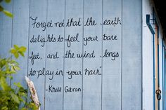 Khalil Gibran is amongst my faves ... right up there with Rumi and Neruda.