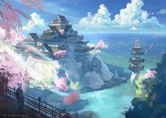 The Esteemed Palace by najtkriss.deviantart.com on @DeviantArt