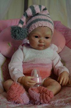 Малышка реборн Кира, автор Силукова Маша / Куклы Реборн Беби - фото, изготовление своими руками. Reborn Baby doll - оцените мастерство / Бэйбики. Куклы фото. Одежда для кукол Cute Baby Dolls, Reborn Baby Dolls, Cute Babies, Silicone Dolls, Toddler Dolls, Cute Little Things, Ooak Dolls, Beautiful Dolls, Dollhouse Miniatures