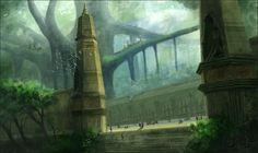 Genius Loci: Hall of Voices by *Ranarh on deviantART