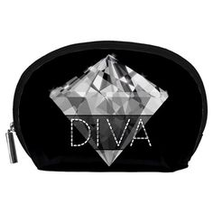 Diva Diamond  Accessory Pouch (Large)