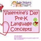 Please download this wonderful Valentine's Packet to work on concepts with your Pre-K kiddos.  We think that it will be a lot of sweet fun for you ...