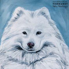 Ölportrait, Hundeportrait, Dogpainting in Oil on canvas