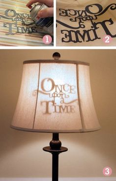once upon a time lamp - cute